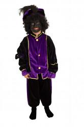 Paars Zwarte Pieten pak voor kinderen