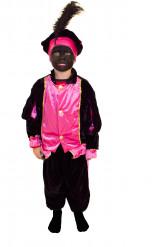 Roze Zwarte Pieten kostuum voor kinderen