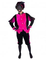 Roze Zwarte Piet pak voor volwassenen