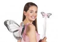 Roze vlinderset