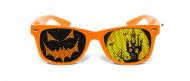 Oranje pompoen bril