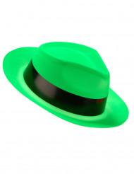 Groene gangster hoed voor volwassenen
