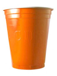 20 wegwerp bekers Original cup, Oranje