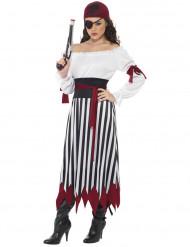 Piraten verkleedkleding voor vrouwen