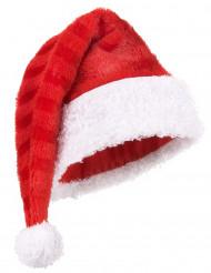 Kerstmuts gestreept voor volwassenen