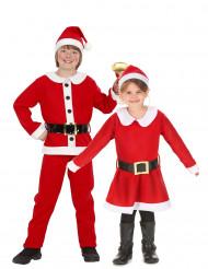 Verkleedkostuum Koppel Kerstman en Kerstvrouw voor kinderen