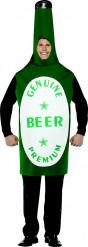 Bierfles kostuum voor mannen