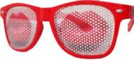Rode lippen feestbril