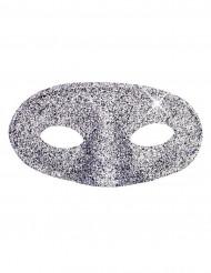 Half masker met glitters voor volwassenen