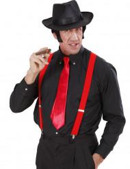 Rode stropdas voor volwassenen