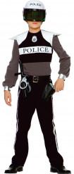 Luxe verkleed pak van een politie agent voor jongens