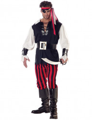 Piraten pak met grote gesp voor mannen
