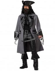 Donker piraten kostuum voor mannen