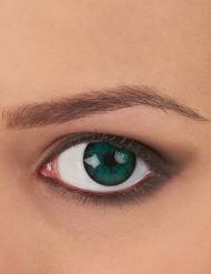Contactlenzen groen en zwart voor volwassenen