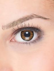 Zwart en oranje contactlenzen voor volwassenen