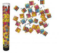 Confetti kanon 30 jaar
