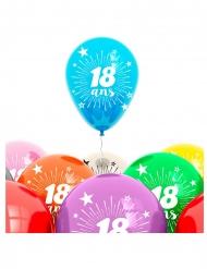 Zak 8 ballonnen 18 jaar