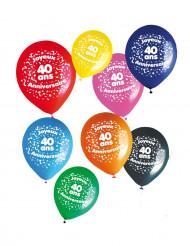Set 8 ballonnen