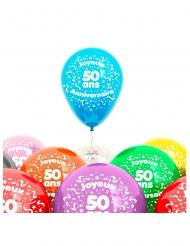 8 50 jaar ballonnen