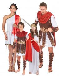 Rode Romeinse familie kostuums