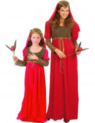 Julia koppelkostuums voor moeder en dochter