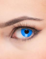 Blauwe contactlenzen