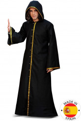 Middeleeuwse tovenaar outfit voor volwassenen - Premium