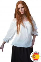 Middeleeuwse boerinnen overhemd voor vrouwen