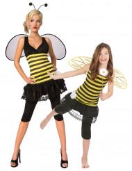 Bijen koppelkostuums moeder en dochter