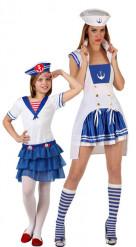 Duo matrozen outfits moeder en dochter