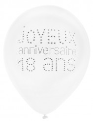 8 chique 18 jaar ballonnen