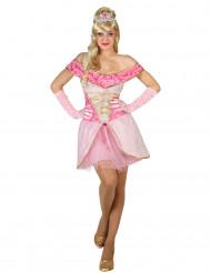Roze prinsessen pak voor dames