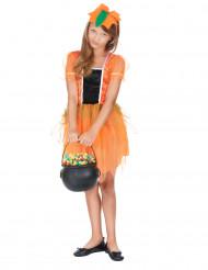 Pompoen outfit voor meisjes