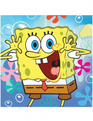 Set van 20 servetten van Sponge Bob™