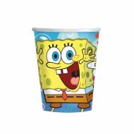 Set van 8 wegwerp bekers Sponge Bob™