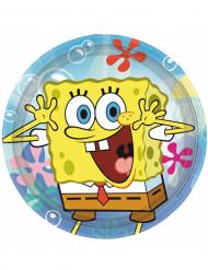 Set van 8 borden van Sponge Bob™