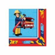 Set Sam de Brandweerman™ servetten