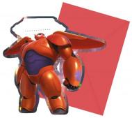 Set van 6 uitnodigingen Big Hero 6™