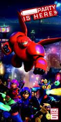Deurversiering van Big Hero 6™