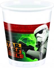 Set van 8 wegwerp bekers Star Wars Rebels™