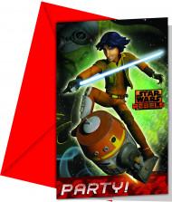 Set van uitnodigingen Star Wars Rebels™