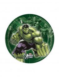 Set van 8 kleine borden Avengers™