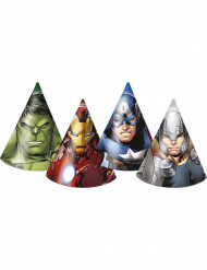 Set van 6 feesthoedjes The Avengers™