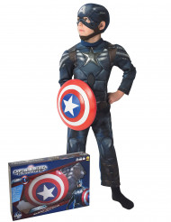 Gespierd Captain America The Winter Soldier™ kostuum voor jongens