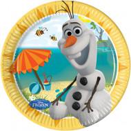 8 kleine wegwerp borden van Olaf™