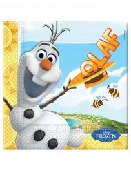 Set van 20 papieren servetten van Olaf™