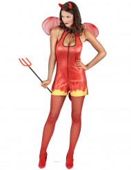 Sexy Halloween duivel kostuum voor vrouwen