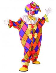 Veelkleurige clown kostuum voor kinderen