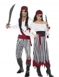 Koppel kostuum voor volwassenen piraten