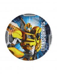 8 kleine wegwerp borden van Transformers™